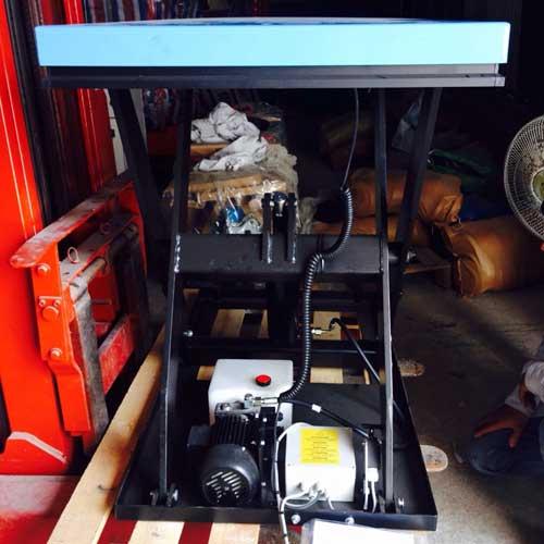 Bàn nâng điện 1 tấn cao 1m HIW10