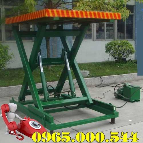 Bàn nâng điện 2 tấn cao 1.7m