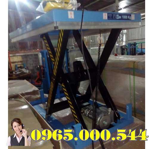 Bàn nâng điện 2 tấn cao 1m HIW20