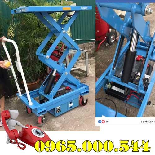 Bàn nâng điện 350kg cao 1.5m