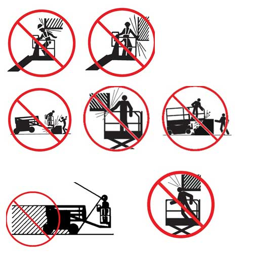 hướng dẫn sử dụng xe nâng người cắt kéo