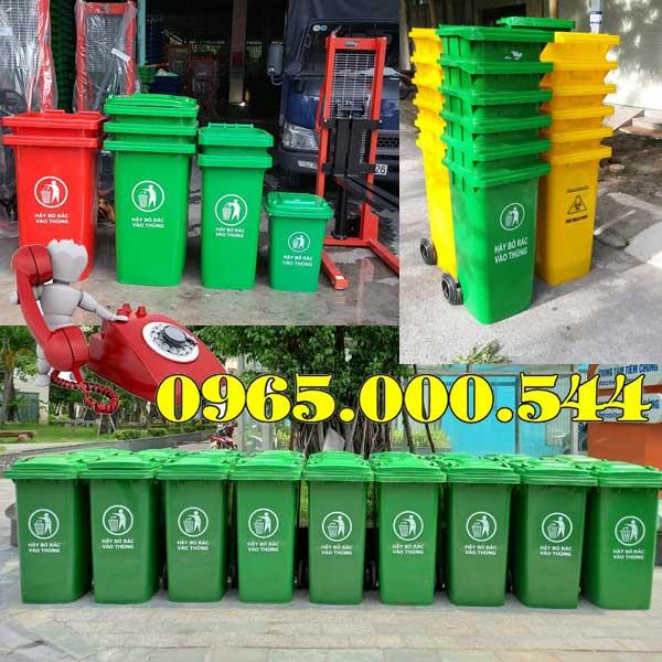 Cửa hàng bán thùng rác nhựa tại củ chi