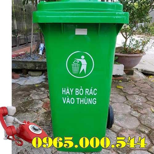 Thùng rác công cộng 100 lít