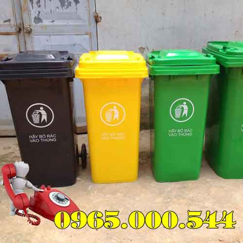 Thùng rác công cộng giá rẻ tại Hà Nội