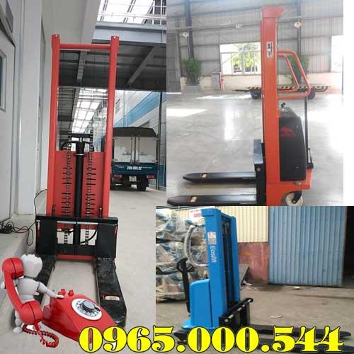 Địa chỉ mua xe nâng bán tự động tại Hà Tĩnh