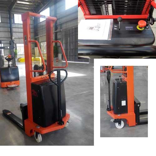 Xe nâng bán tự động 2 tấn 1.6m