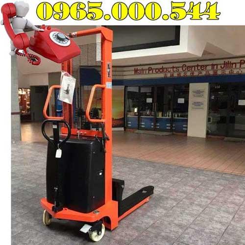 Xe nâng bán tự động 1 tấn 1.6m