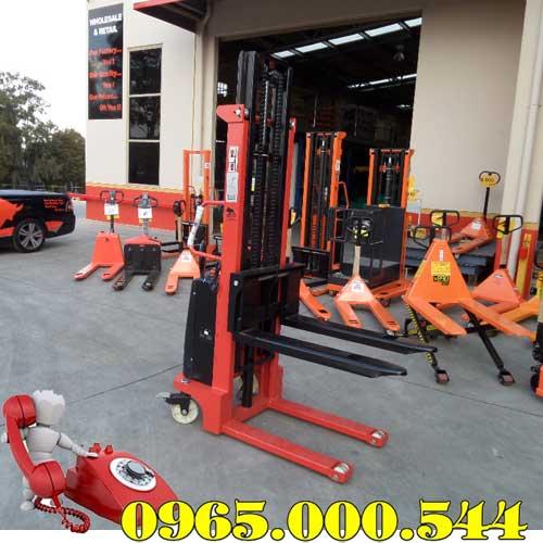Xe nâng bán tự động 1 tấn 3m
