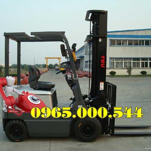 Xe nâng điện ngồi lái 1.5 tấn 3m