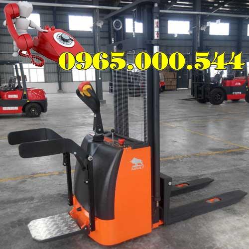 Xe nâng điện đứng lái 1.5 tấn 1.6m