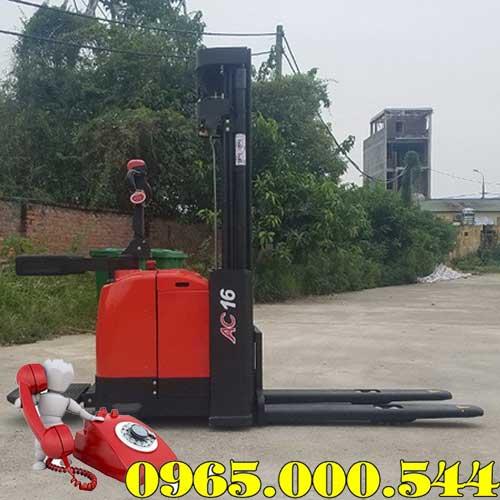 Xe nâng điện đứng lái 1.5 tấn 4m