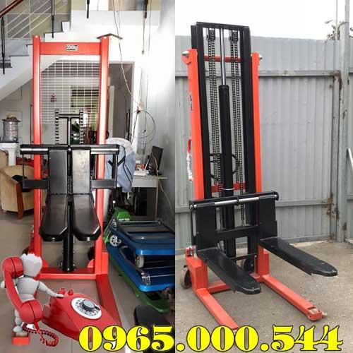 Xe nâng tay cao 2 tấn giá rẻ tại Hà Nội