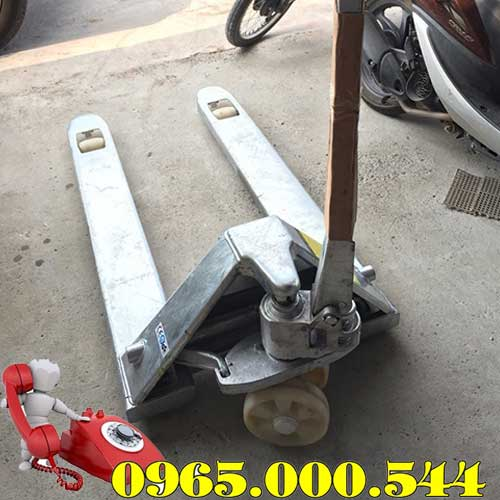 Xe nâng tay thấp 2.5 tấn mạ kẽm