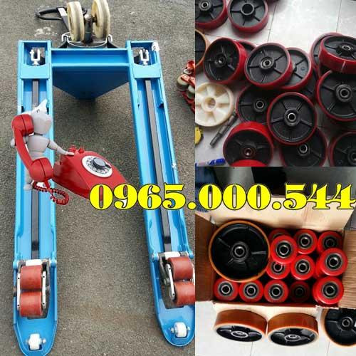 Thay bánh xe bánh xe nâng tay tại Hà Nội